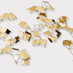 Настенное панно из металла «Cell»