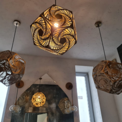 Интерьерные светильники из металла